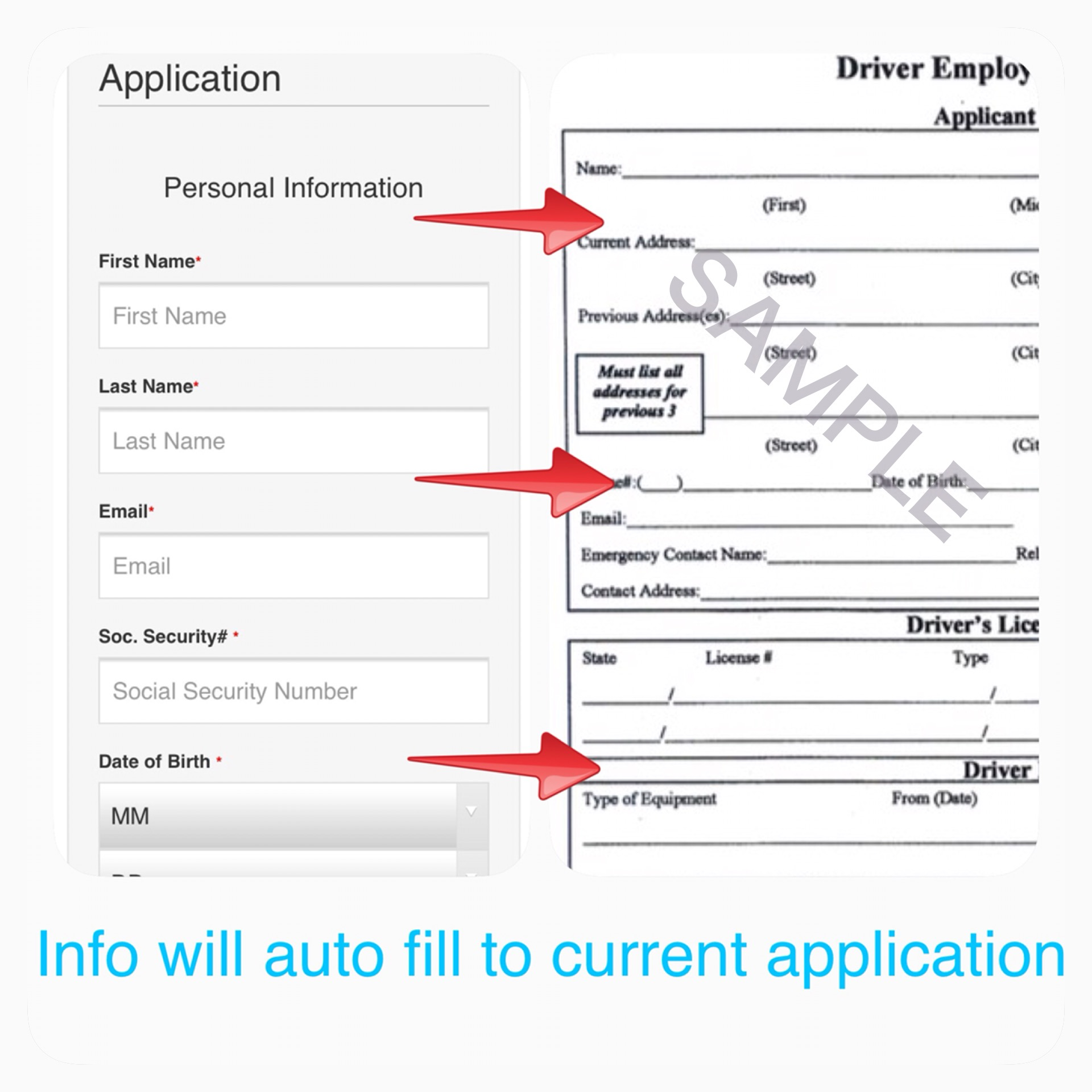 online trucking application builder american trucking resources either an electronic form or your companies existing pdf application will be delivered to your email releases and user signatures included